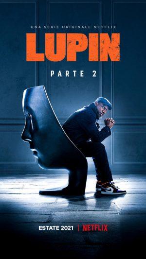 lupin serie Netflix parte 2 netflix poster