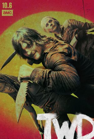 the walking dead stagione 10 poster