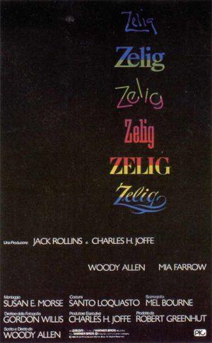 zelig film poster 1983