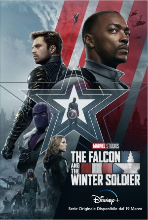THE FALCON AND THE WINTER SOLDIER serie poster 2021