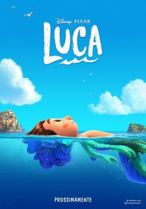 luca film pixar 2021 poster