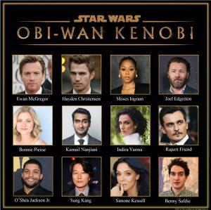 OBI-WAN KENOBI cast serie disney+