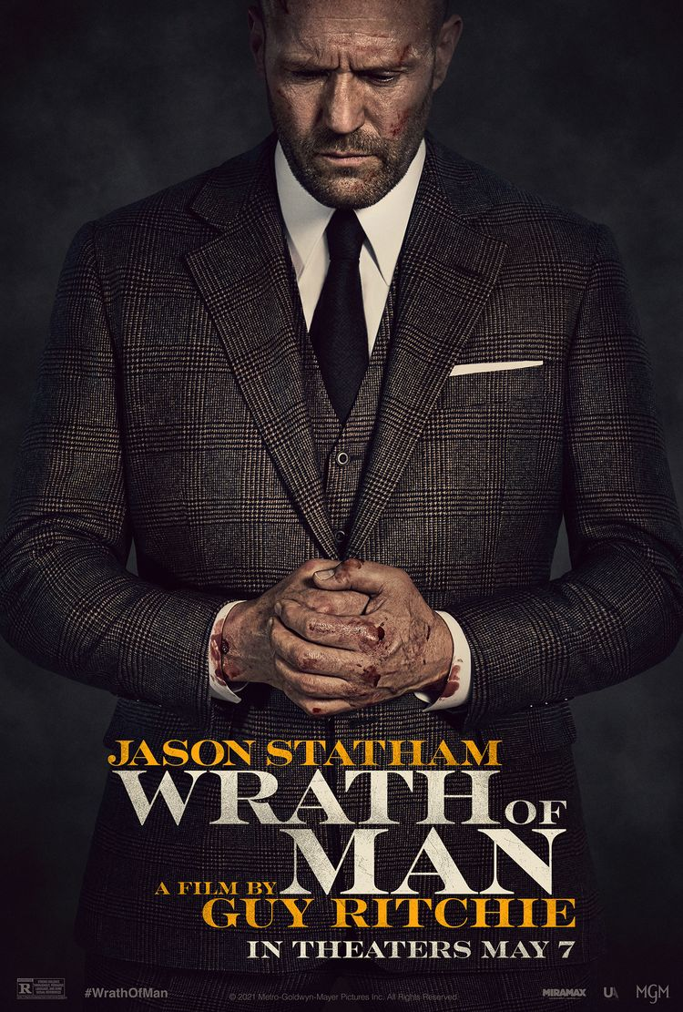 Wrath of Man film poster 2021