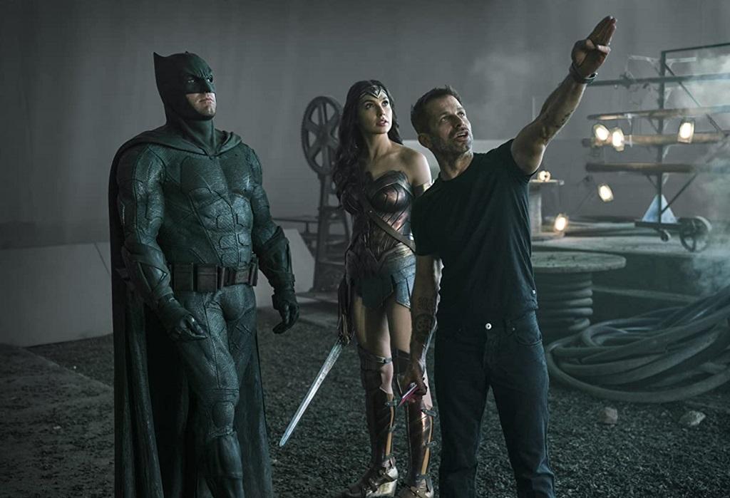 Zack Snyder's Justice League (2021) set zack