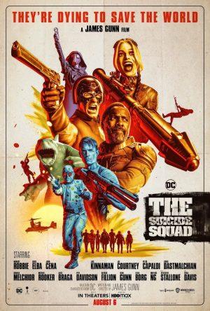 suicide squad - missione suicida film 2021 poster