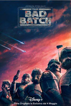the bad batch serie disney+ 2021 poster