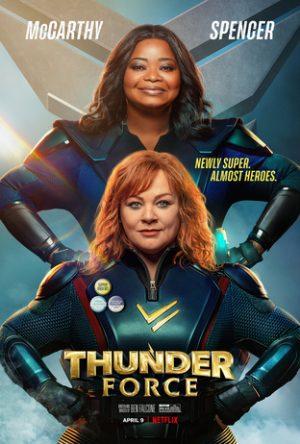 thunder force film netflix 2021 poster