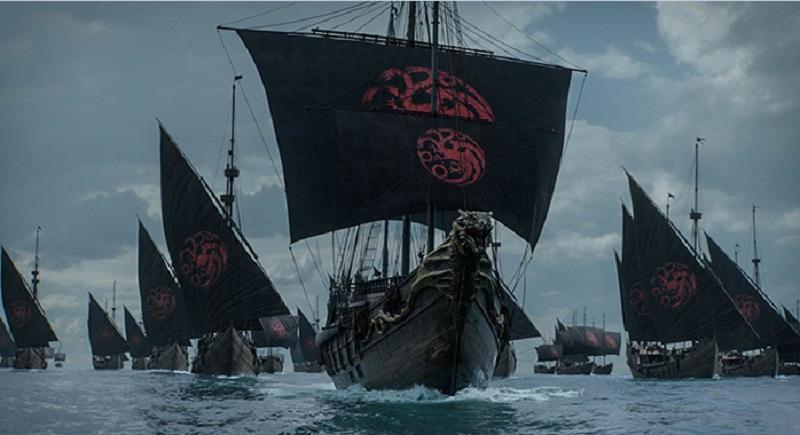 trono di spade navi