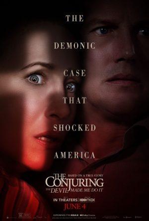 The Conjuring Per Ordine Del Diavolo film poster 2021