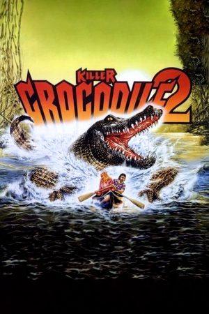 killer crocodile 2 film poster