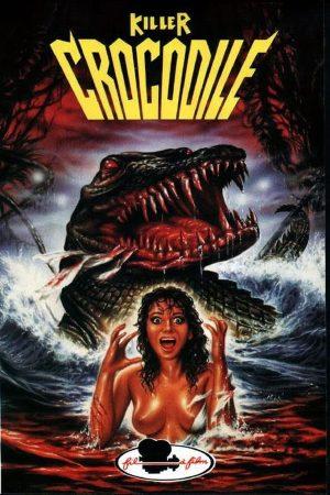 killer crocodile film poster