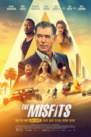 the misfits film 2021 poster