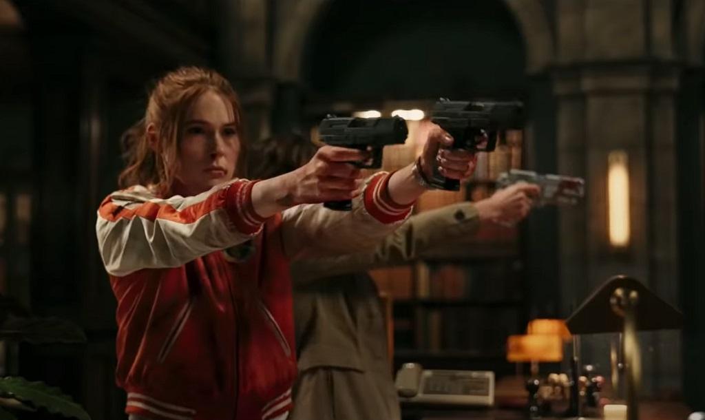 Gunpowder Milkshake film netflix karen gillan 2021