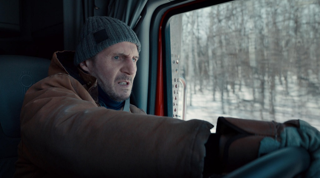 The Ice Road (film Netflix) liam neeson