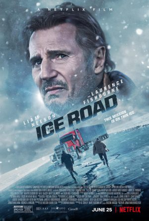 The Ice Road (film Netflix) poster