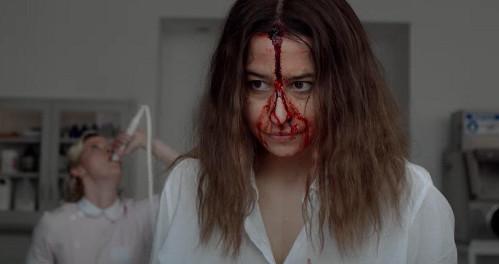 false positive film 2021 horror