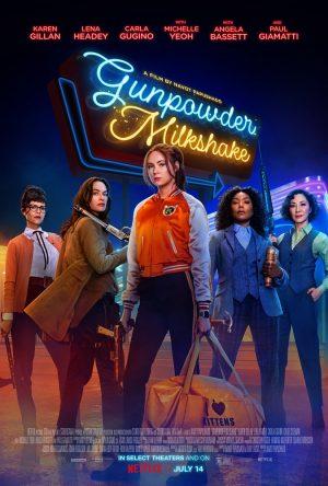 gunpowder milkshake film poster 2021