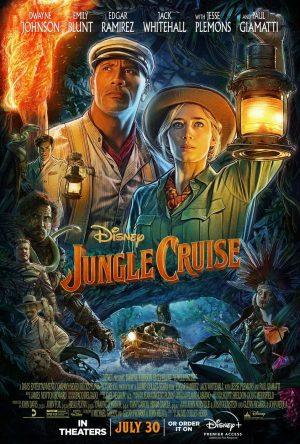 jungle cruise film poster 2021