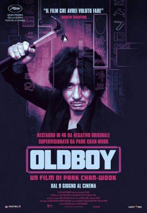 oldboy film poster 4K 2021