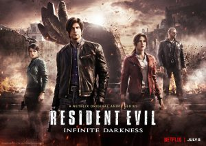 resident evil infinite darkness serie netflix 2021 poster
