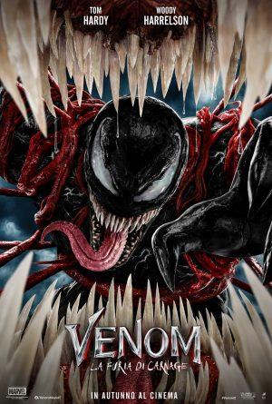 venom 2 la furia di carnage poster 2021 film