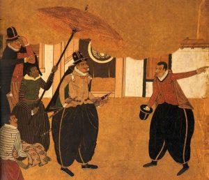yasuke samurai nero giappone