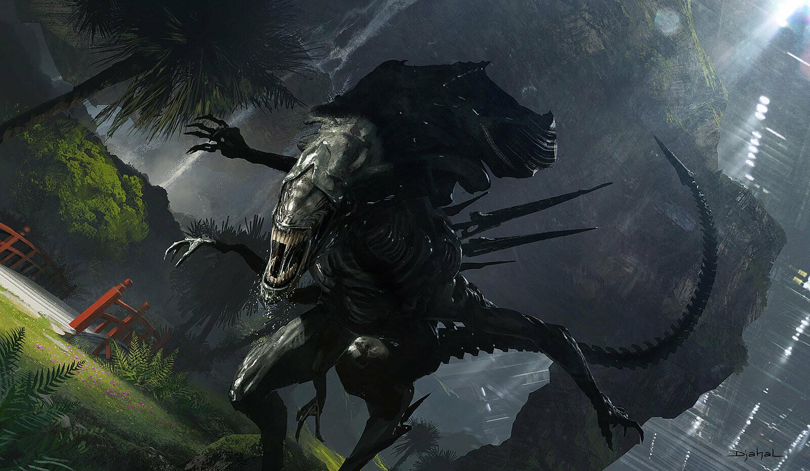 Alien 5 film concept art Blomkamp (2)