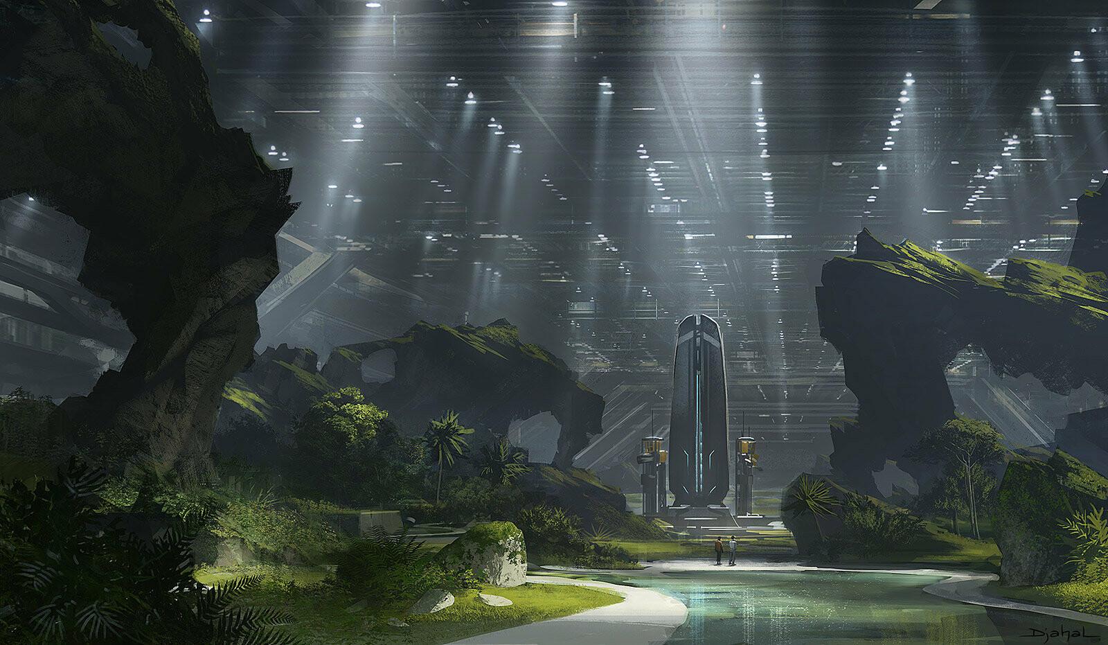 Alien 5 film concept art Blomkamp (3)