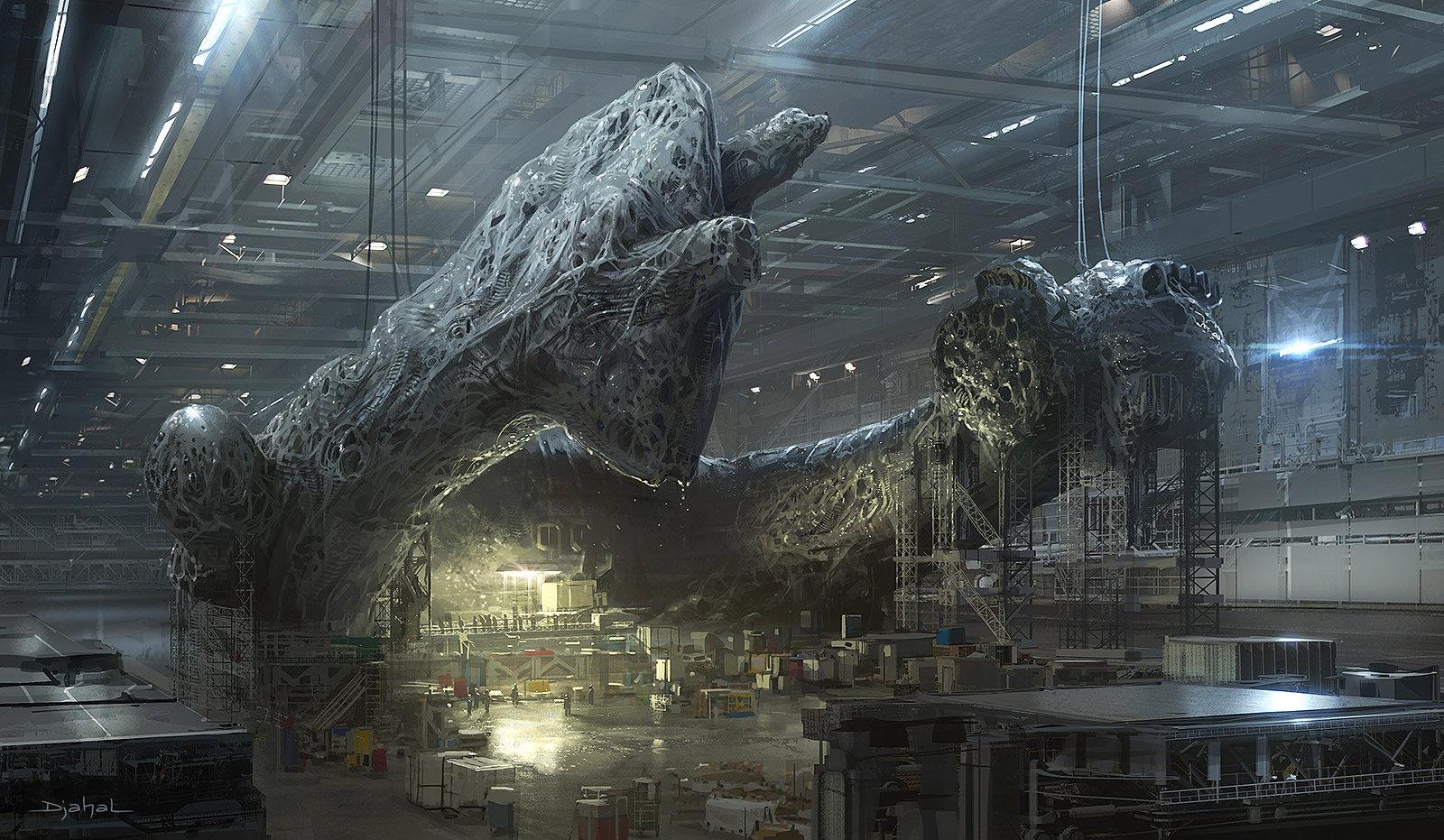 Alien 5 film concept art Blomkamp (4)
