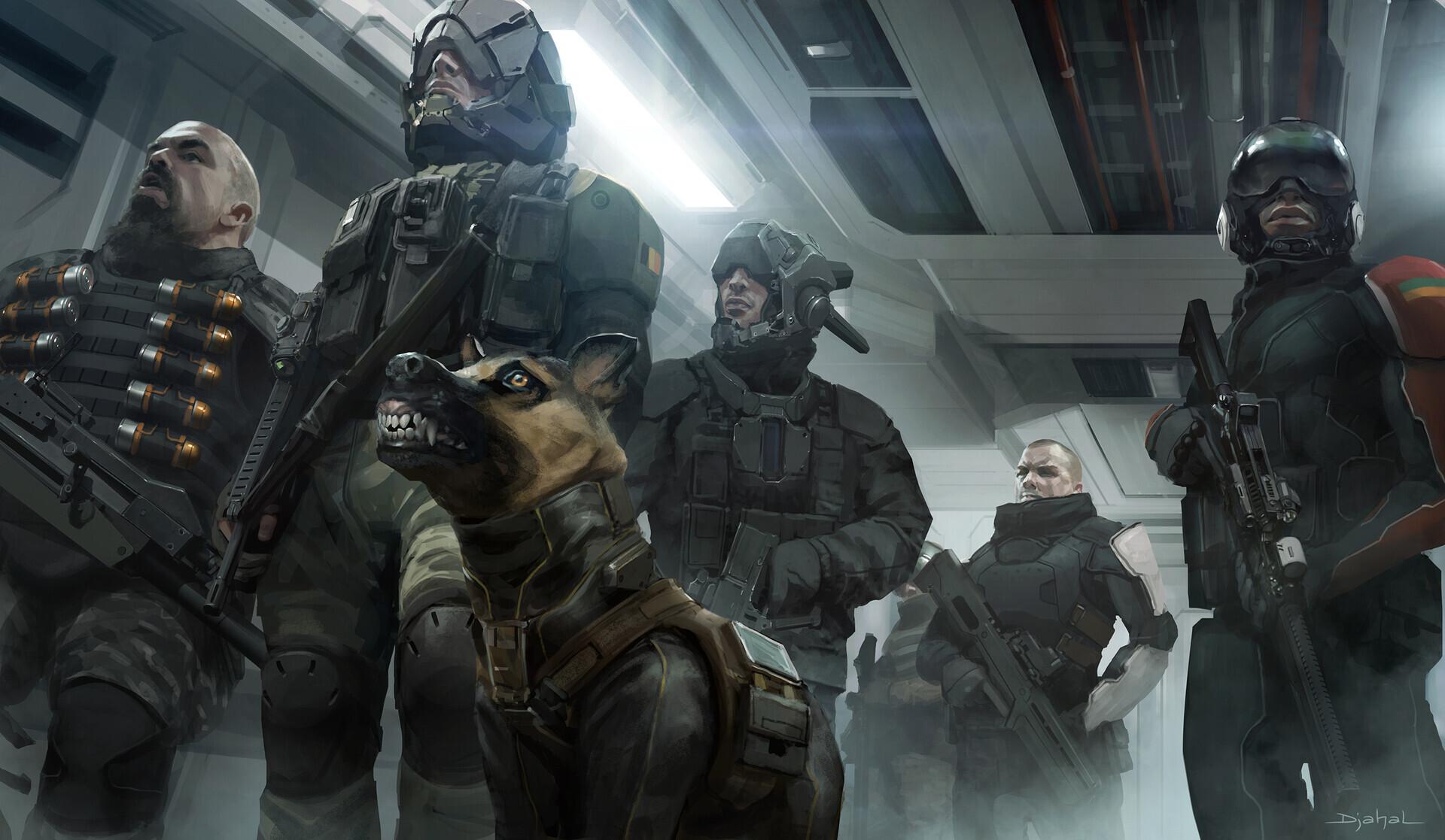 Alien 5 film concept art Blomkamp (5)