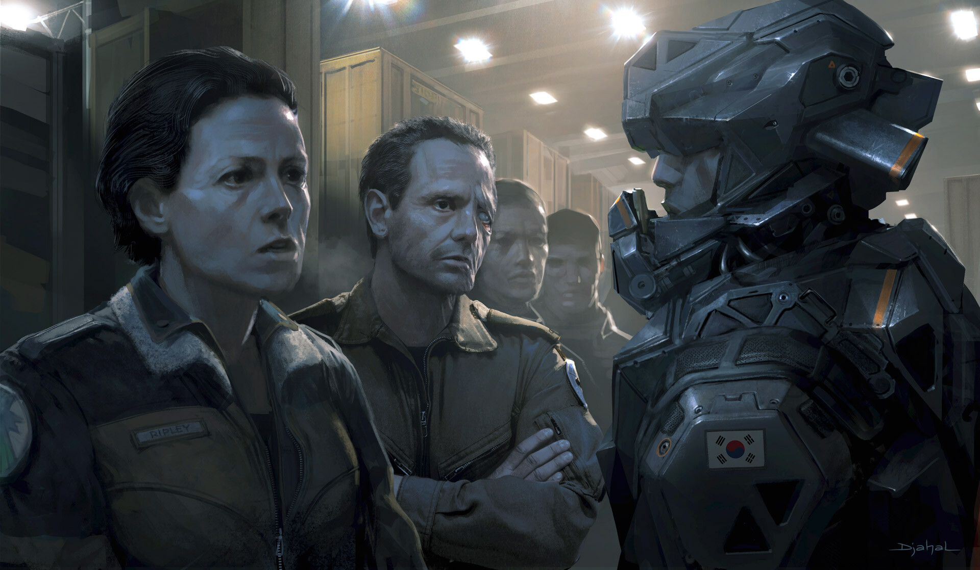 Alien 5 film concept art Blomkamp (6)