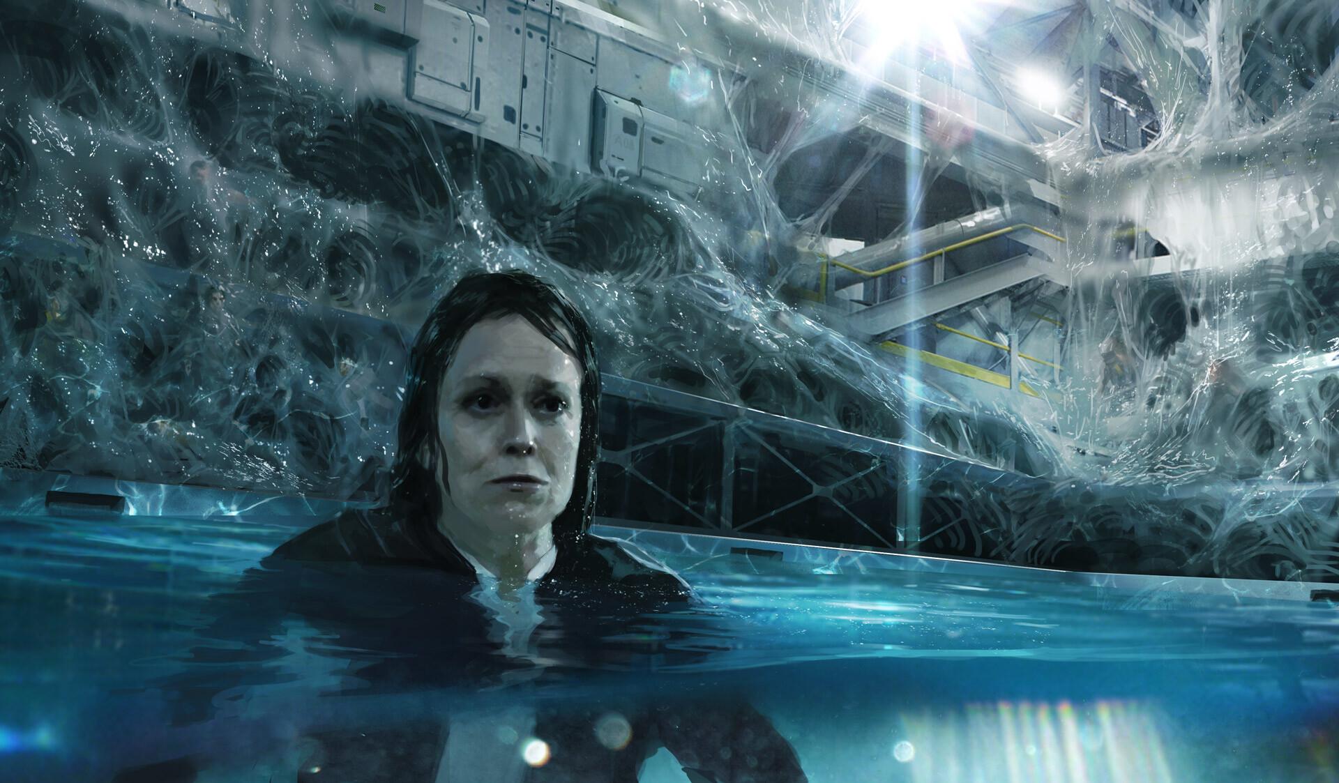 Alien 5 film concept art Blomkamp