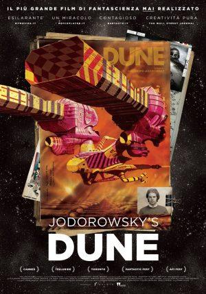 Jodorowsky's Dune di Frank Pravich poster ITA