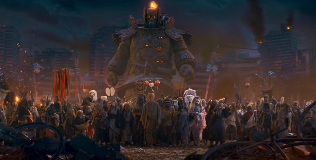 The Great Yokai War Guardians film 2021