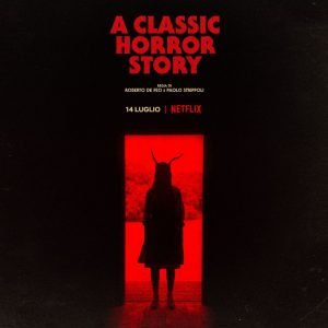 a classic horror story film poster 2021