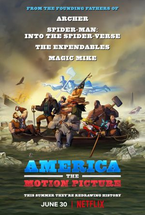 america - the motion picture poster netflix 2021