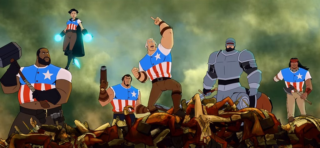 america - the motion picture serie netflix 2021