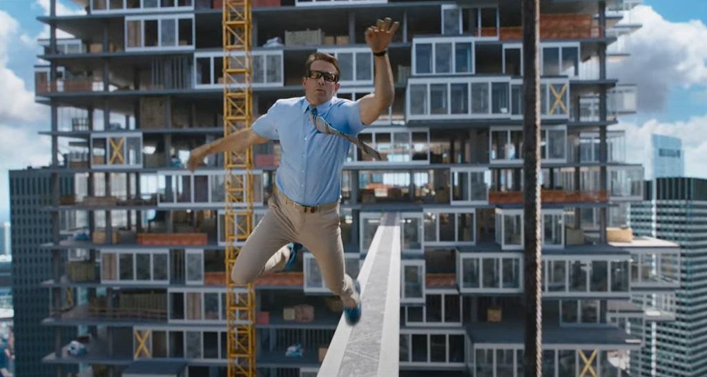free guy film 2021 Ryan Reynolds