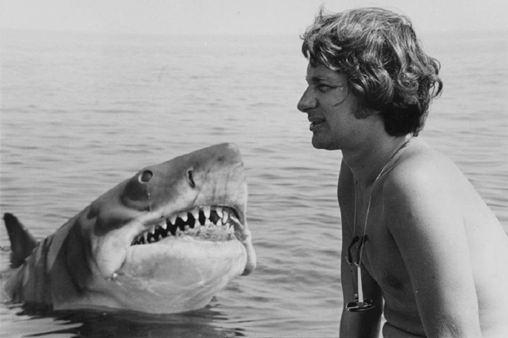 lo squalo spielberg set 1975