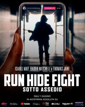 run hide fight sotto assedio poster ITA