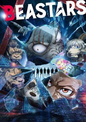 Beastars stagione 2 serie netflix poster