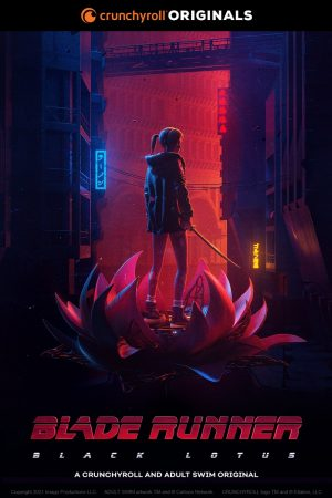 Blade Runner Black Lotus serie poster 2021