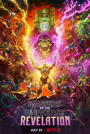 Masters of the Universe Revelation poster serie 2021