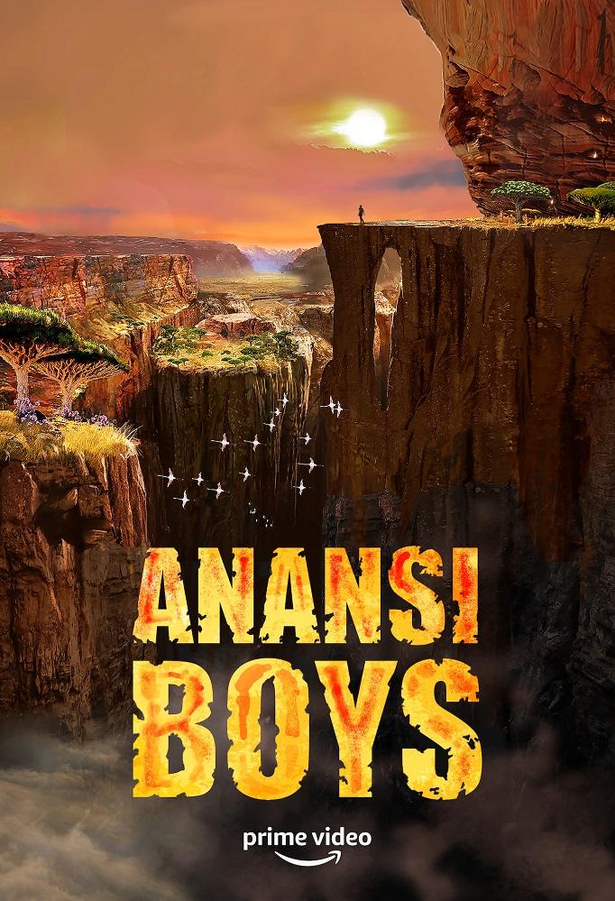 anansi boys serie amazon poster