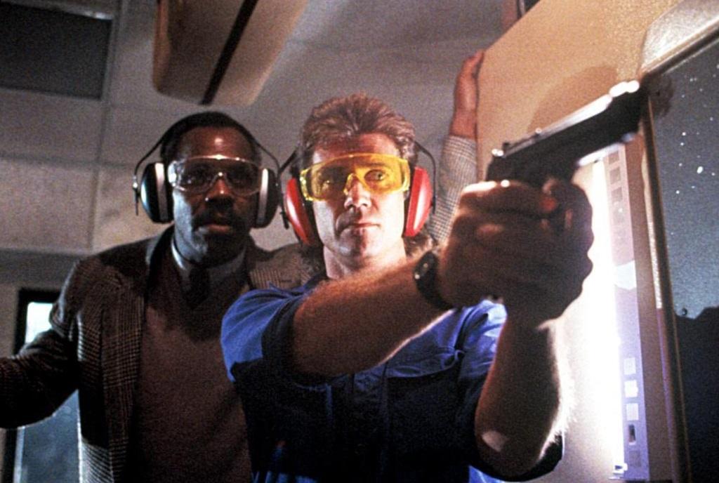 arma letale film 1987 gibson + glover