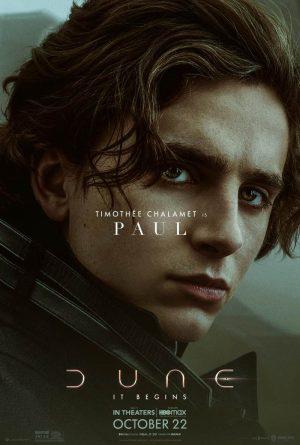 dune film 2021 poster