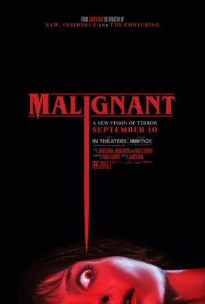 malignant film horror poster 2021