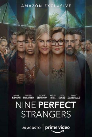 nine perfect strangers serie prime poster