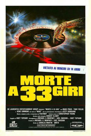 Morte a 33 giri poster film