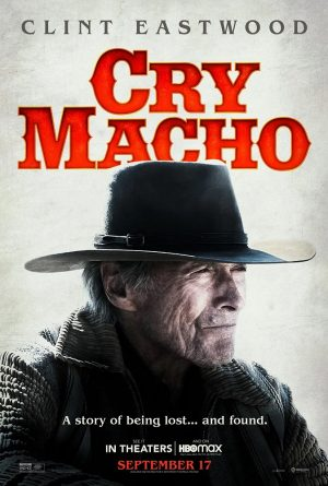 cry macho film poster 2021
